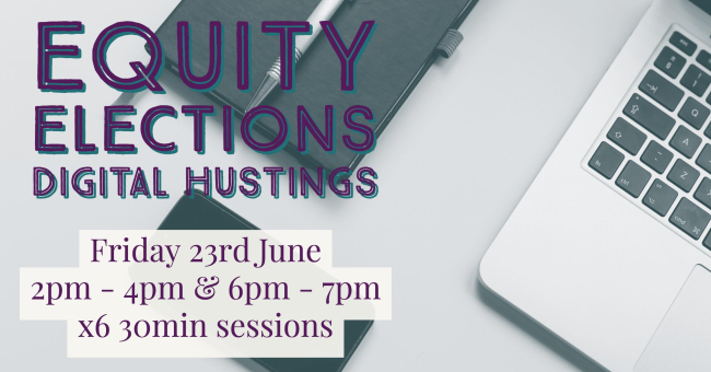 Digital Hustings - It's all part of the Online Branch Experience.