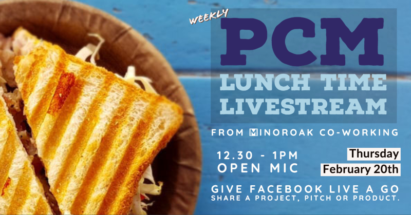 PCM - Lunch Time Livestream